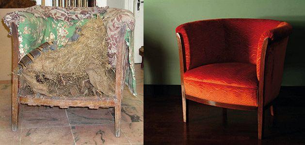 Restaurer vos fauteuils r nover une berg re une chauffeuse raviver vos chaises avec un - Carcasse de fauteuil a restaurer ...